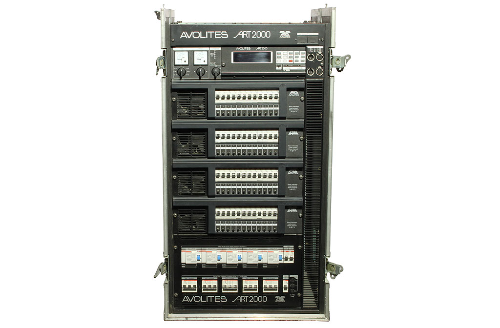 avolites 48-way-dimmer-rack